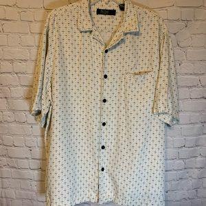 Nat Nast silk shirt, XL